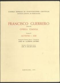 Opera omnia 3 motetes i-xxii