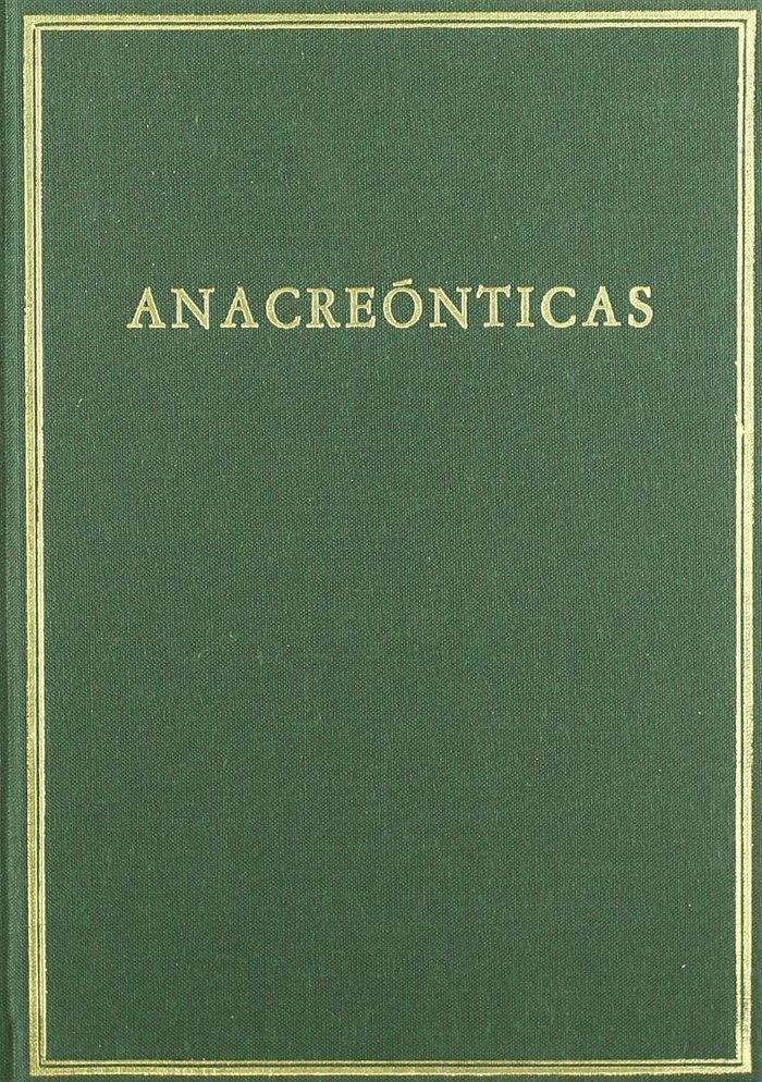 Anacreonticas
