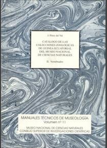 Catalogo de las colecciones zoologicas de guinea ecuatorial