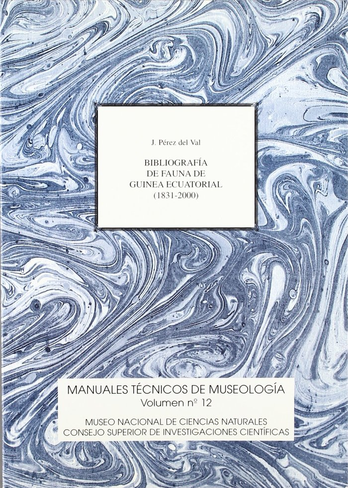 Bibliografia de la fauna de guinea ecuatorial (1831-2000)