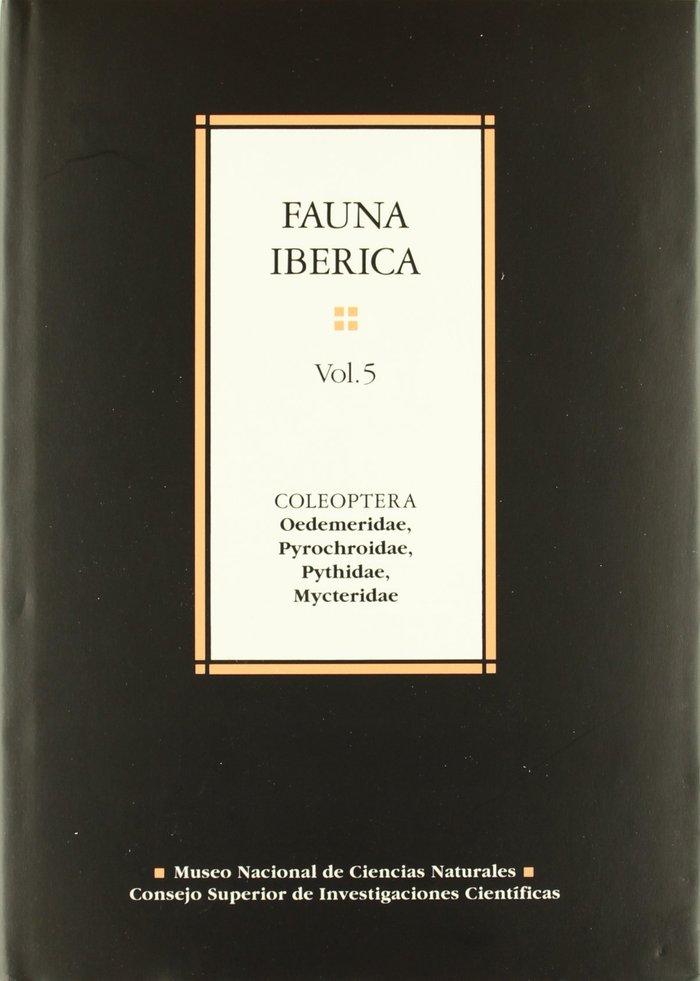 Fauna iberica 5 coleoptera