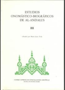 Estudios onomast.al-and.vol.3