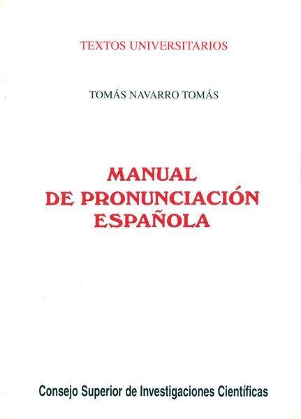 Manual pronunciacion española 28º