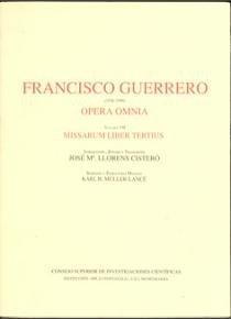 Opera omnia. tomo vii. misarum liber tertius