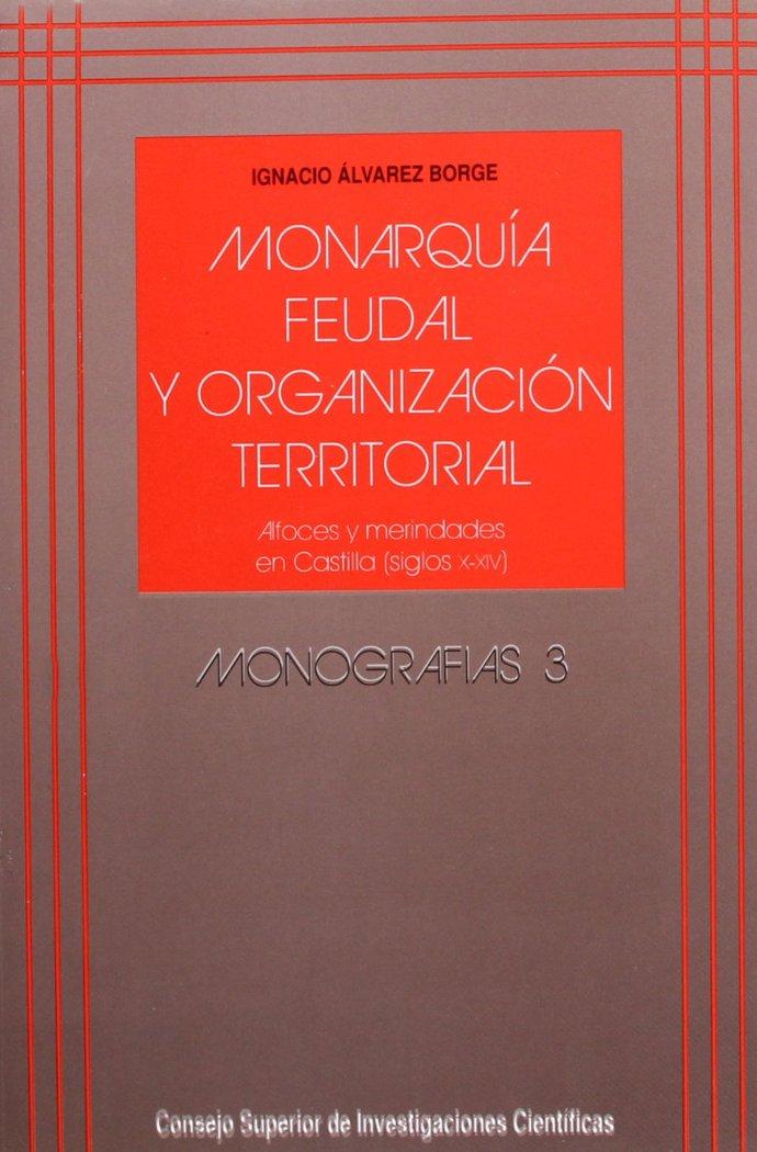 Monarquia feudal organiz.territorial