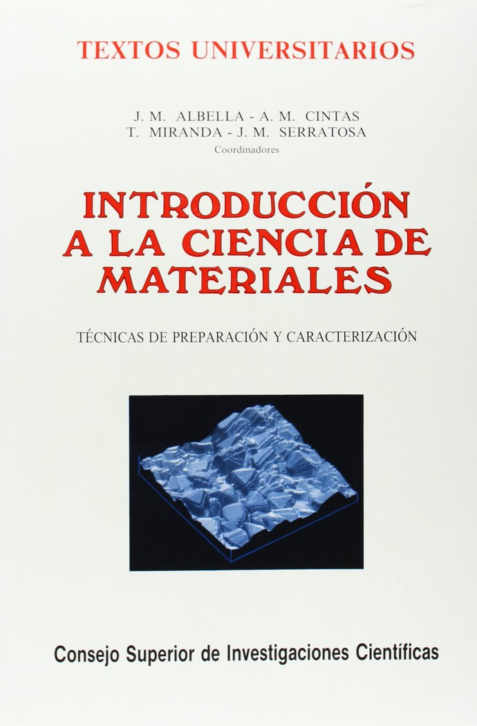 Introduccion a la ciencia de materiales