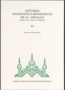 Estudios onomastico-biograficos de al-andalus. vol. vi. home