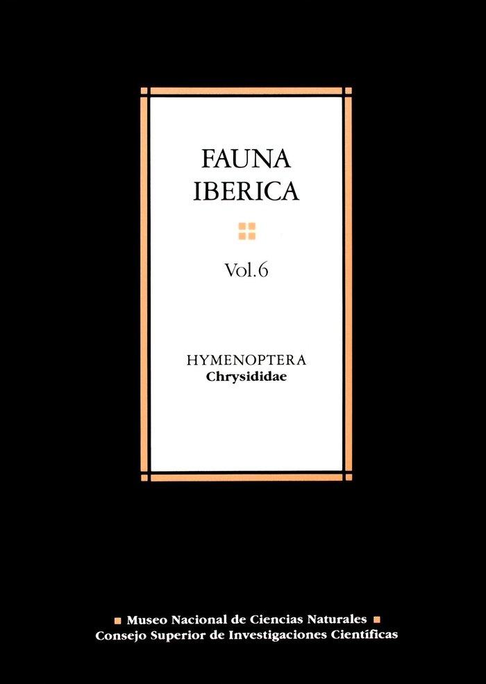 Fauna iberica 6 hymenoptera
