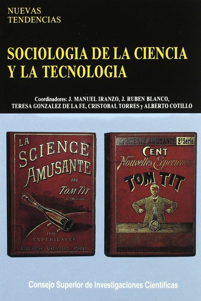 Sociologia ciencia y tecnologia