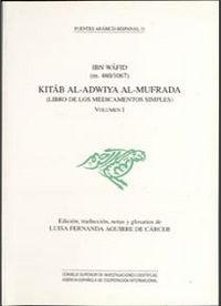 Libro de los medicamentos o.c 2 vol kitab al-adwiya