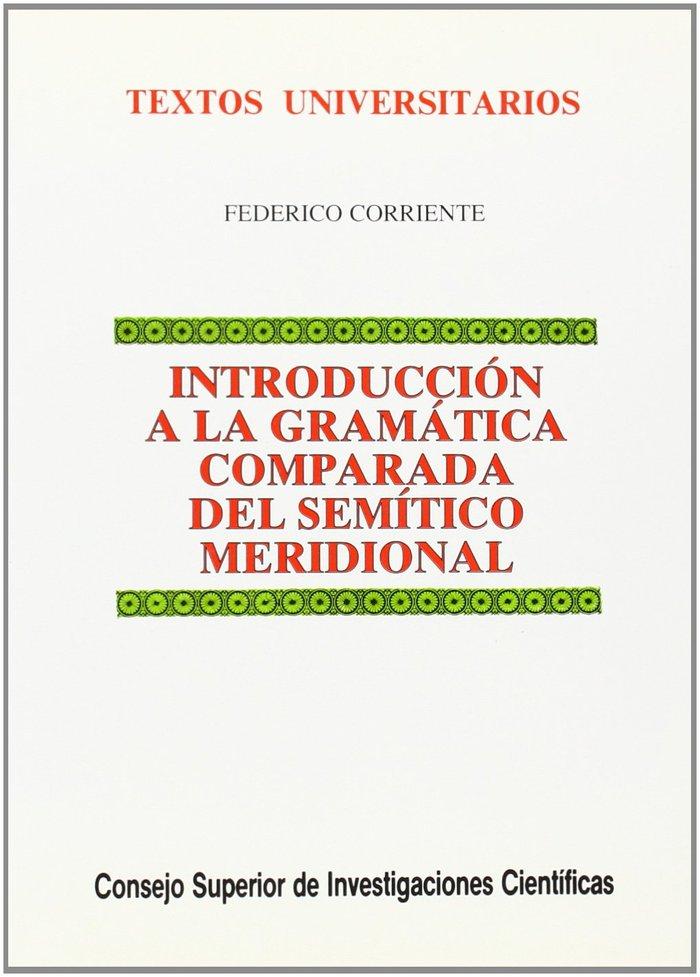 Int.gramatica comparada semitico meridional
