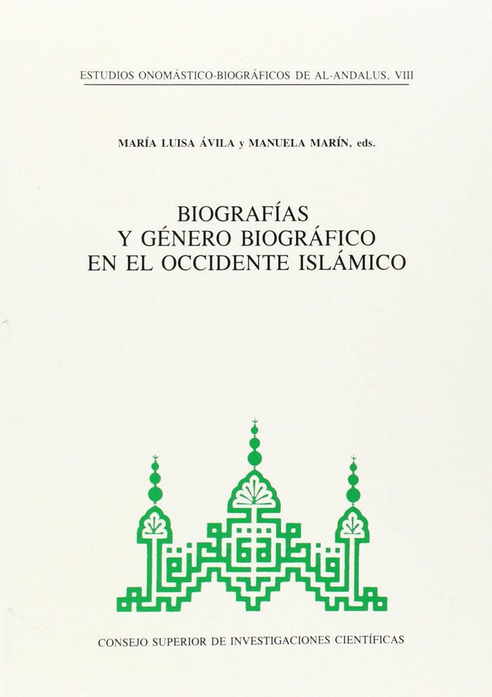 Estudios onomasticos viii al andalus