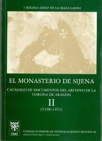 Monasterio de sijena. vol. ii. catalogo de documentos del ar