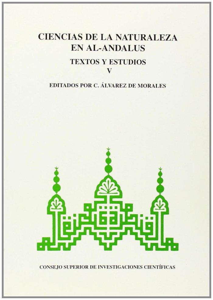 Ciencias naturaleza al andalus v textos estudios