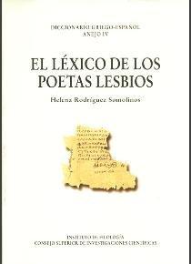 Lexico de los poetas lesbios,el