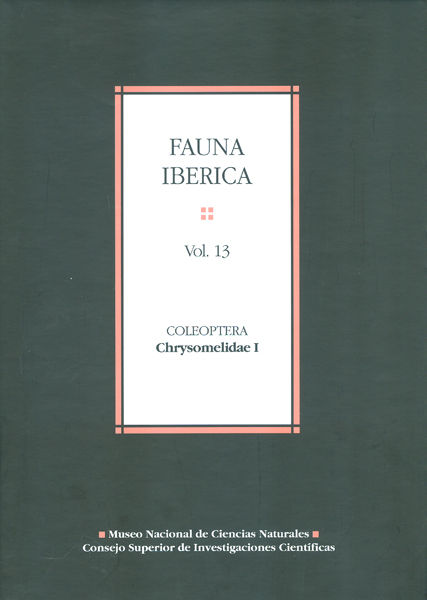 Fauna iberica 13 coleoptera chrysomelidae i