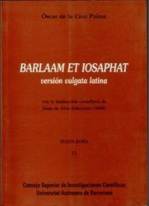 Barlaam et iosafat vulgata latina