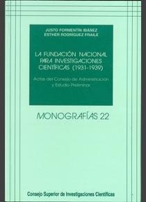 Fundacion nacional para investigaciones cientificas (1931-19