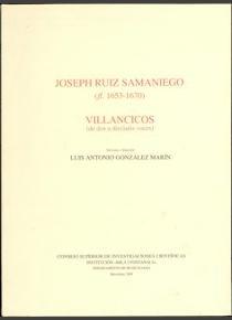 Villancicos (de dos a dieciseis voces)