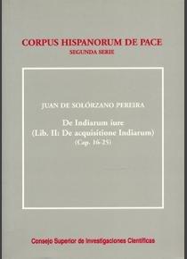 De indiarum iure. liber ii/2. de acquisitione indiarum (caps