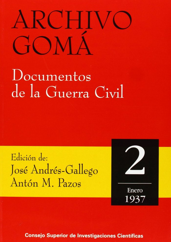Archivo goma documentos guerra civil 2 enero 1937