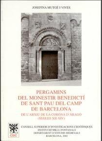 Pergamins del monestir benedicti de sant pau del camp de bar