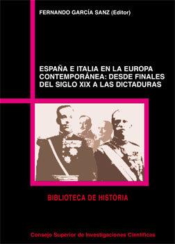 España e italia en la europa contemporanea