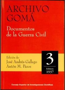 Archivo goma documentos guerra civil 3 febrero 1937