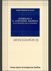 Homenaje a d. jose maria albareda en el centenario de su nac
