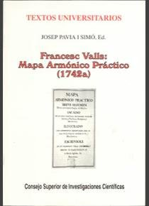 Francesc valls mapa armonico practico (1742 a)
