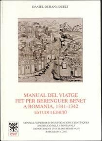 Manual del viatge fet per berenguer benet a romania (1341-13