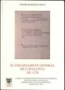 Fogatjament general de catalunya de 1378,el