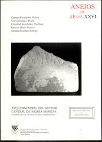 Arqueomineria del sector central de sierra morena