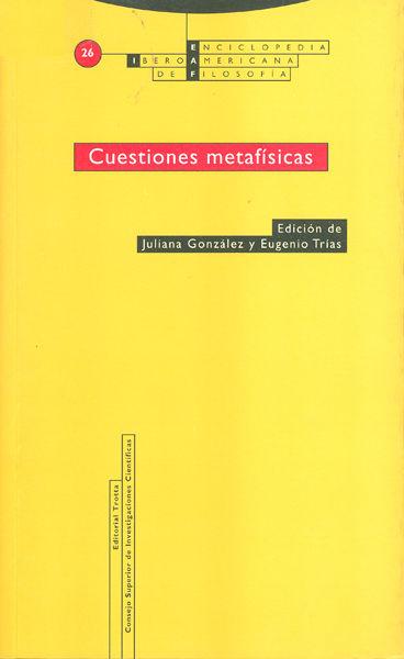 Cuestiones metafisicas