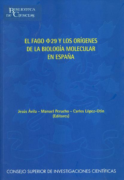 Fago lambda 29 origenes biologia molecular
