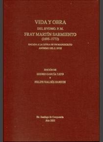 Vida y obra del rvdmo.padre fray martin sarmiento 1695-1772
