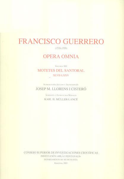 Opera omnia vol.xiii