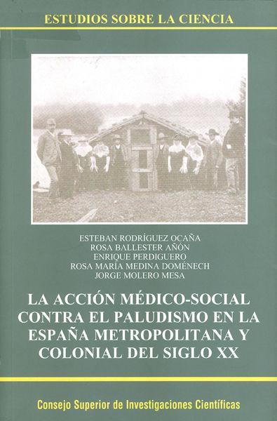 Accion medico social contra el paludismo en españa metropoli