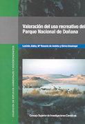 Valoracion del uso recreativo del parque nacional doñana