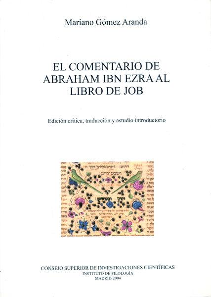 Comentario abraham ibn ezra al libro de job