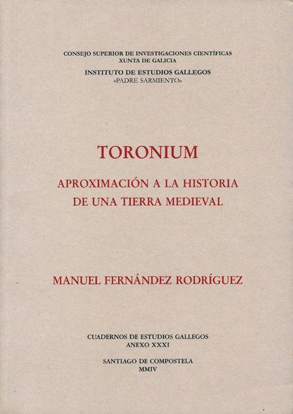 Toronium aproximacion historia tierra medieval