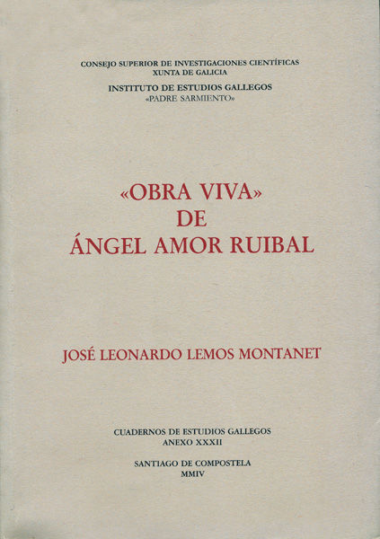Obra viva de angel amor ruibal