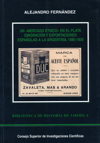 Mercado etnico plata emigracion exportaciones españolas agen