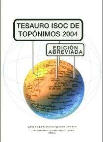 Tesauro isoc de toponimos 2004