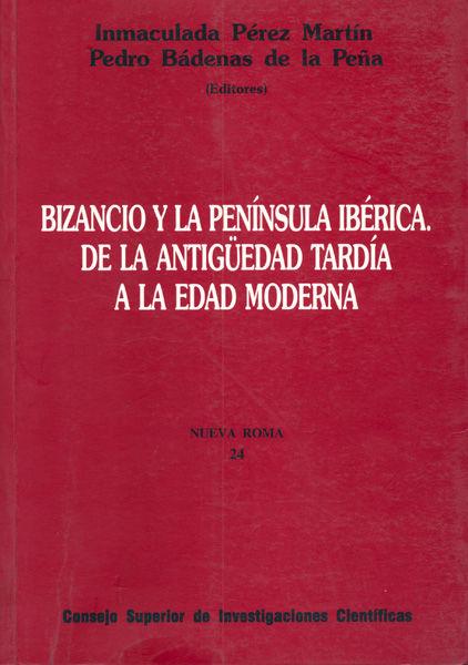 Bizancio la peninsula iberica antiguedad tardia a edad moder