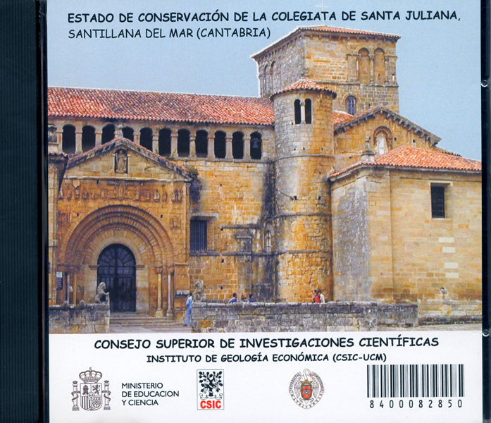 Estado conserv.cd colegiata sta juliana santillana del mar