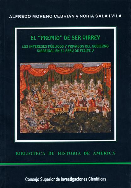 Premio de ser virrey,wl