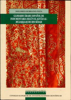 Glosario arabe españolindumentaria segun kitab al-mujassaas