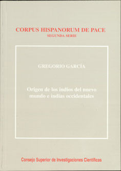Origen indios del nuevo mundo e indas occidentales