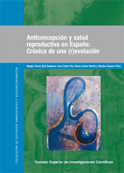 Anticoncepcion salud reproductiva en españa